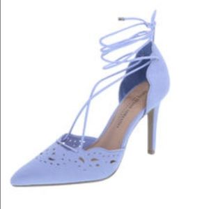 NIB lace up heels
